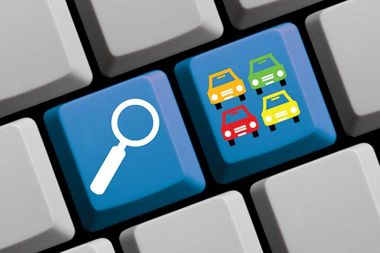 Searching dealership online reviews