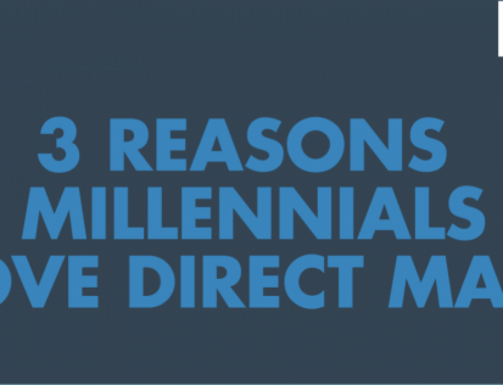 Three Reasons Millennials Love Direct Mail (Infographic)