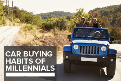 car buying habits of millennials
