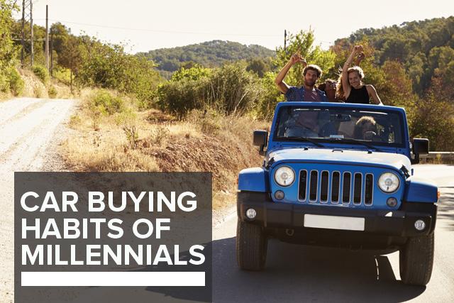 car buying habits of millennials